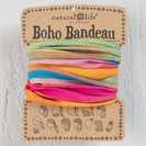 Natural Life Boho Bandeau Hot Pink Rainbow Ombre