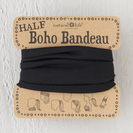 Natural Life Half Bandeau Solid Black
