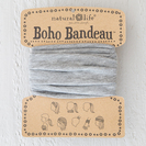 Boho Bandeau Heather Grey