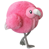 Mini Squishable Fluffy Flamingo