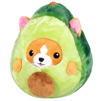 Squishable Corgi in Avocado