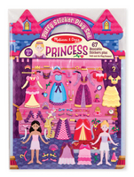 Melissa and Doug Puffy Sticker Play Set , Princess