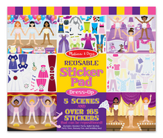 Melissa and Doug Reusable Sticker Pad , Dress Up