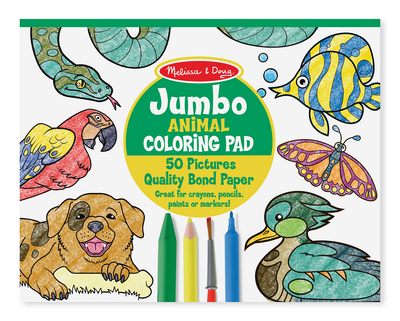 Melissa and Doug Jumbo Coloring Pad , Animal