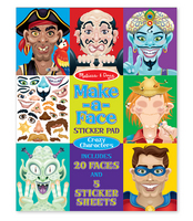 Melissa and Doug Make a Face Crazy Characters Sticker Pad