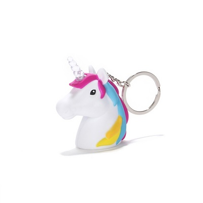 Kikkerland Unicorn LED keychain