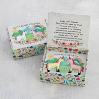 Lucky Little Tokens Set of 2 Unicorns