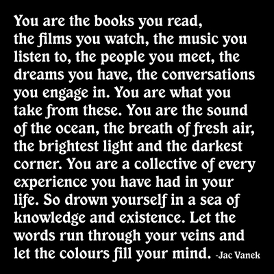 you are the books you read mag