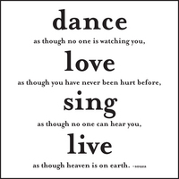 dance as though magnet