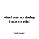COUNT MY BLESSING MAGNET