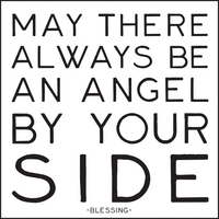 angel by your side magnet