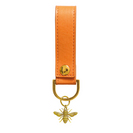 Tangerine Bee Luxury Soft Touch Key Chain