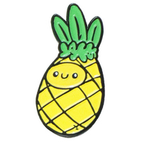 Squishable Pineapple Enamel Pin