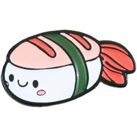Shrimp Sushi Enamel Pin