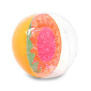 Bando Glitter bomb beach ball, sunburst