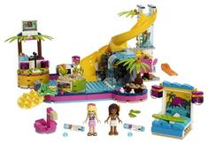 LEGO  Friends  Andreas Pool Party 41374