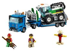 LEGO  City Great Vehicles  Harvester Transport 60223