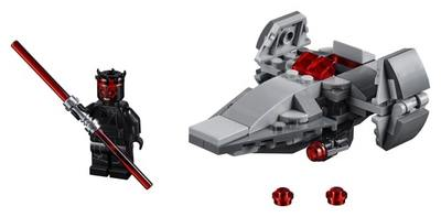 LEGO  Star Wars  tm  Sith Infiltrator tm Microfighter 75224