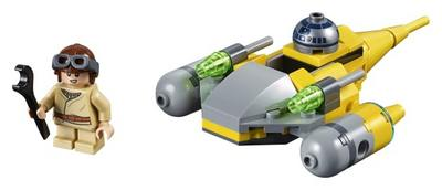 LEGO  Star Wars  tm  Naboo Starfighter tm Microfighter 75223