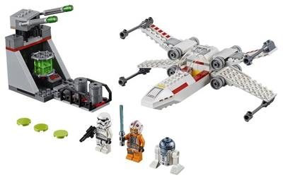 LEGO  Star Wars  tm  X Wing Starfighter tm Trench Run 75235