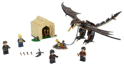 LEGO  Harry Potter  tm  Hungarian Horntail Triwizard Challenge 75946