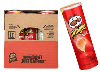 Pringles Original, 5.57oz (Pack of 14)