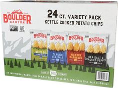 Boulder Canyon Variety Chips Pack 24count