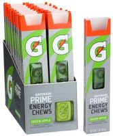 Gatorade Prime Energy Chews, Green Apple, 1oz (Pack of 16)