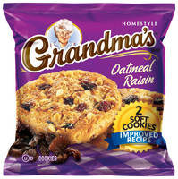 Grandmas Big Oatmeal Raisin 60 Count