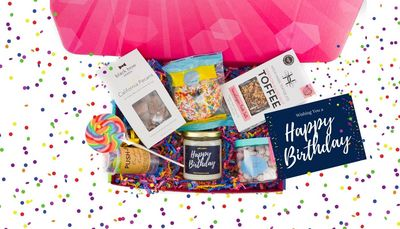 Birthday Celebration Box  Pulling out all the stops to celebrate their birthday!