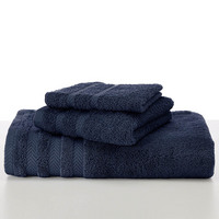 Martex Egyptian Cotton with Dryfast W Navy Bath Towel