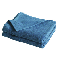 IZOD Everyday Light Blue 4 Pack Bath Towels