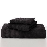Martex Egyptian Cotton with Dryfast Black Hand Towel