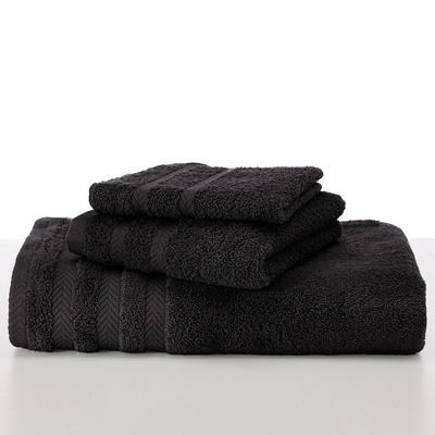 Martex Egyptian Cotton with Dryfast Black Wash Cloth