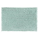 Microfiber Frizz Bathroom Shower Accent Rug, 30in x 20in, Ice