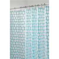 Honeycomb Shower Curtain, Aqua