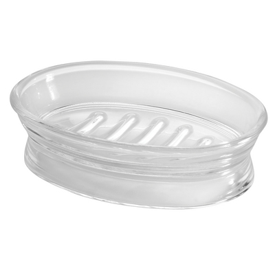 Franklin Soap Dish, Clear
