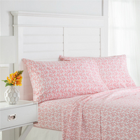 Southern Tide Flamingo Twin Xl Pink Sheet Set