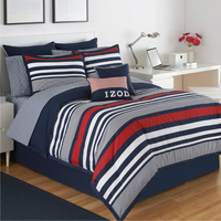 IZOD Varsity Stripe California King Comforter Set