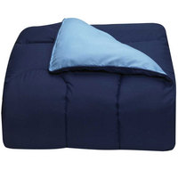 OCM Navy and Light Blue Twin XL Comforter