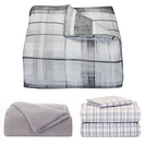 OCM Reversible Plaid Twin XL Bundle