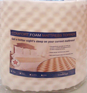 B N At Emory Bookstore Twin Xl Memory Foam Mattress Topper