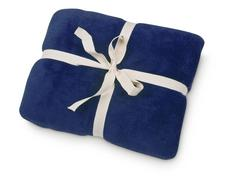 Cozy Fleece Blanket, Navy