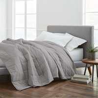 EcoPure Cotton Filled King Dark Blanket