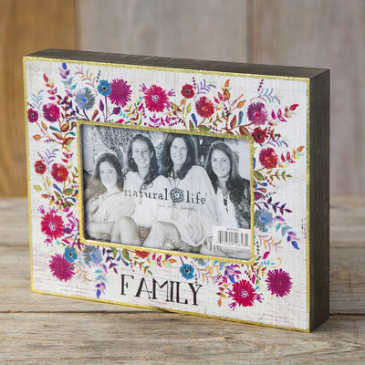 Natural Life Picture Frame Family