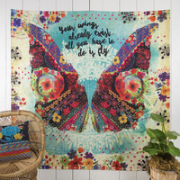 Natural Life Tapestry Your Wings