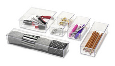 Drawer Organizer. Clear