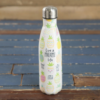Natural Life Water Bottle Pineapple Life