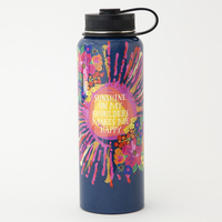 Natural Life Water Bottle Lg Sunshine shoulder