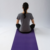 Gaiam 68 inch Yoga Mat, Purple